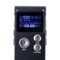 Digital Voice Recorder 8 GB Speicher mit Digital LCD Display Stimme/Audio Recorder mit Mikrofon Diktiergerät mit U Disk funktion