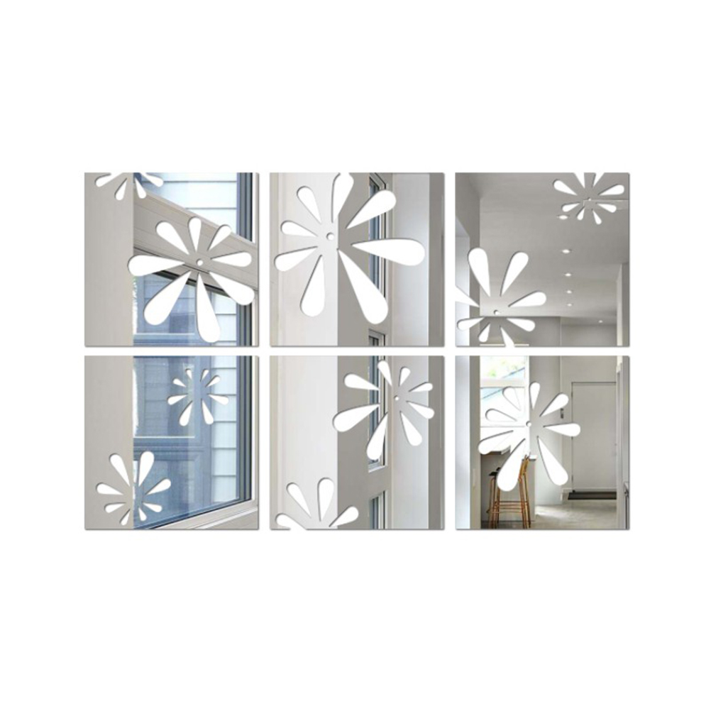 Wall Sticker Removable Mirror Acrylic
