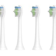 4 шт. soniangia Зубная щётка главы Замена для Philips Sonicare DiamondClean Электрический Sonic помощи HX6211/30 зубная щетка ручки