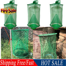 2019 New Reusable Outdoor Fly Trap Perfect For Horses Insert Bug Pest Hanging Catch