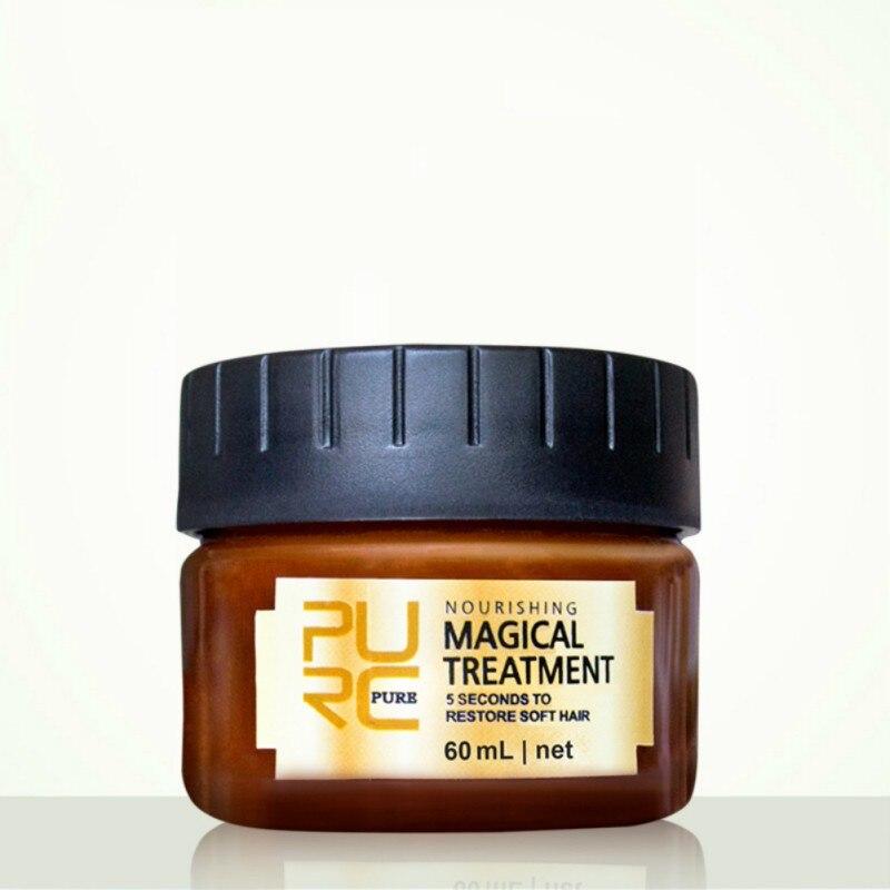 60 мл быстро восстанавливает поврежденные мягкие волосы для всех типов кератиновых волос и обработки кожи головы