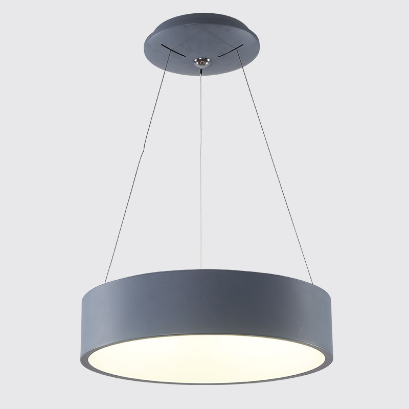 Modern Round LED Pendant Light For Dining Room Bedroom Hallway Home Decor Lighting Fixture Dia45cm Ring Circle Hanging palazzo d oro