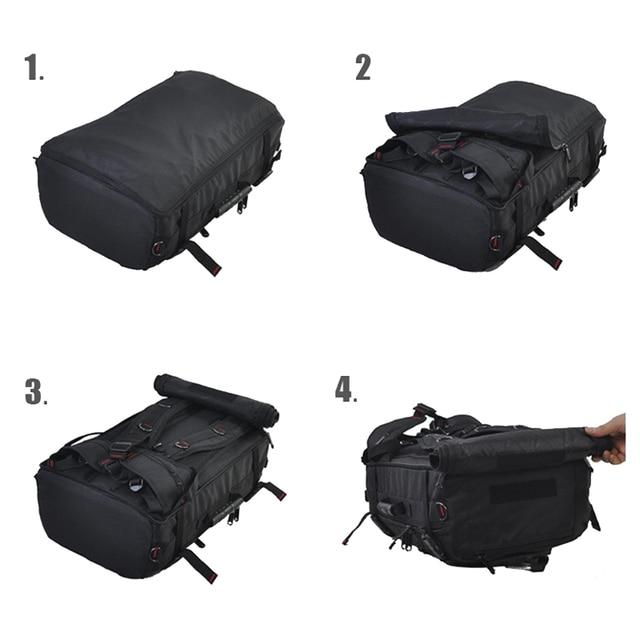 MAGIC UNION 20 inch Men Backpack Travel Bag Large Capacity Versatile Utility Mountaineering Multifunctional Waterproof Backpacks 4