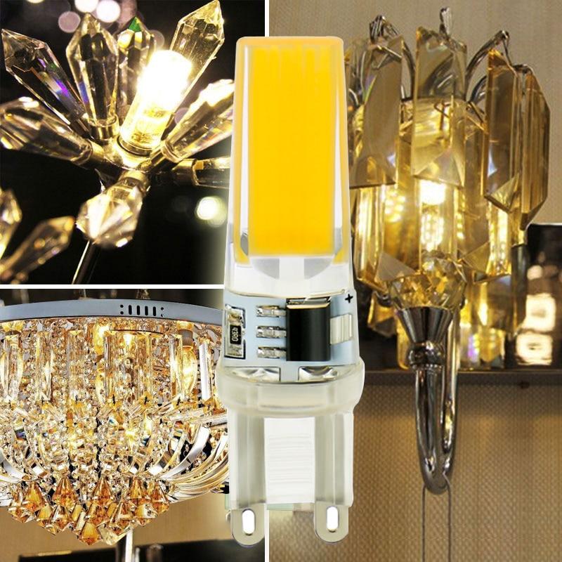 Lâmpadas Led e Tubos lâmpada led g4 9 w Base Tipo1 : g4 Cob