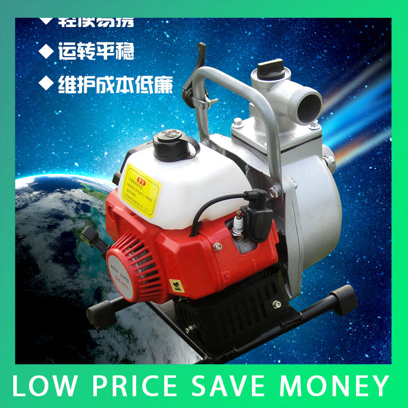 IE40-6 Cast Aluminum Portable Self-priming Agricultural Irrigation Water Pump High-lift Centrifugal Pump household self priming high lift submersible pump 220v 370w 750w 1500w agricultural sewage pump irrigation equipment