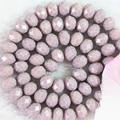 Multicolor AB crystla vidrio material de jade 3*4mm 150 unids/strand facetadas abacus factory outlet al por mayor floja granos de los espaciadores B677