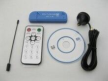 Satellite numérique USB2.0 DAB FM DVB-T RTL2832 R820T DTS RTL-DTS Dongle Bâton Numérique TV Tuner Récepteur IR À Distance