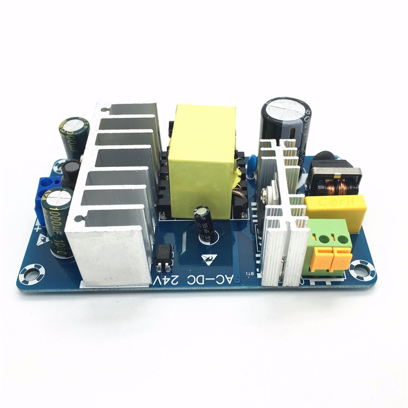 AC85-265V a DC24V DC12V Fuentes de alimentación conmutada tablero AC-DC módulo 24 V 4-6A 6-8A 100 W