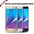 4200 mah para samsung galaxy note 5 caso a energia da bateria de backup externo carregador para samsung note 5 casos bateria nota 5 caso o poder