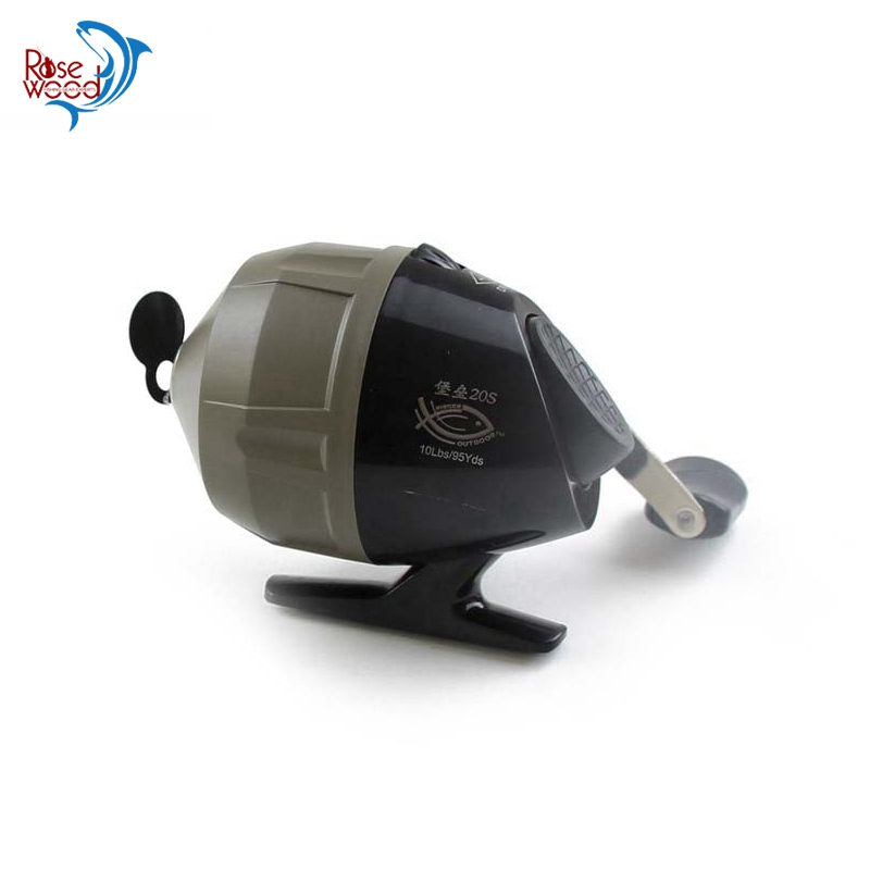 new 3 3 1 spin cast reel bow crossbow spincast fishing