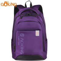 Aoking Daily Travel Leisure School Backpack For College Student Large Capacity Laptop Backpack Causal Waterproof Nylon