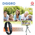 DIGGRO E06 Smart Healthy Bracelet Waterproof Bluetooth 4.0 Wristband Pedometer Sleep Monitor Calorie Tracker for Android and IOS