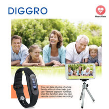 Diggro E06 Смарт здоровый браслет Водонепроницаемый Bluetooth 4.0 Браслет Шагомер сна Мониторы калорий трекер для Android и IOS