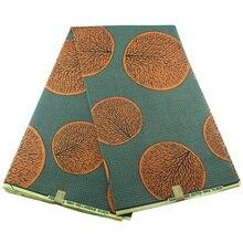 Африканская вощеная ткань принтом хлопок Анкара текстиль pagne Анкара воск