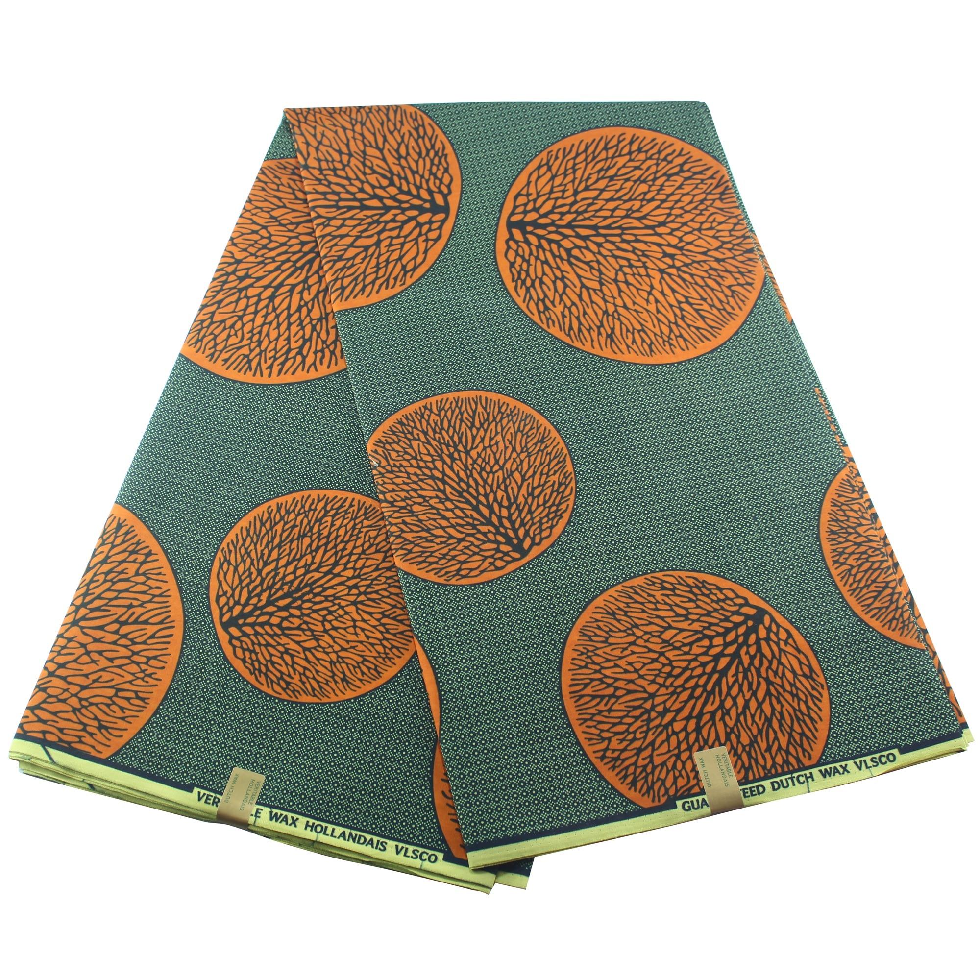 African Wax Print Fabric 100% Cotton Ankara Textile Pagne Ankara Wax