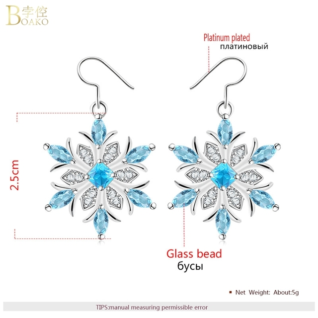 Snowflake Crystal Necklace 3