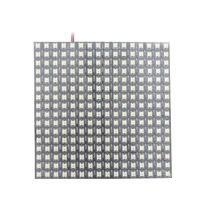 5 V 16x16 pixel LED Panel, ws2812b chip SMD 5050 RGB LED ws2811 IC incorporado individualmente direccionable RGB a todo color llevó la tira