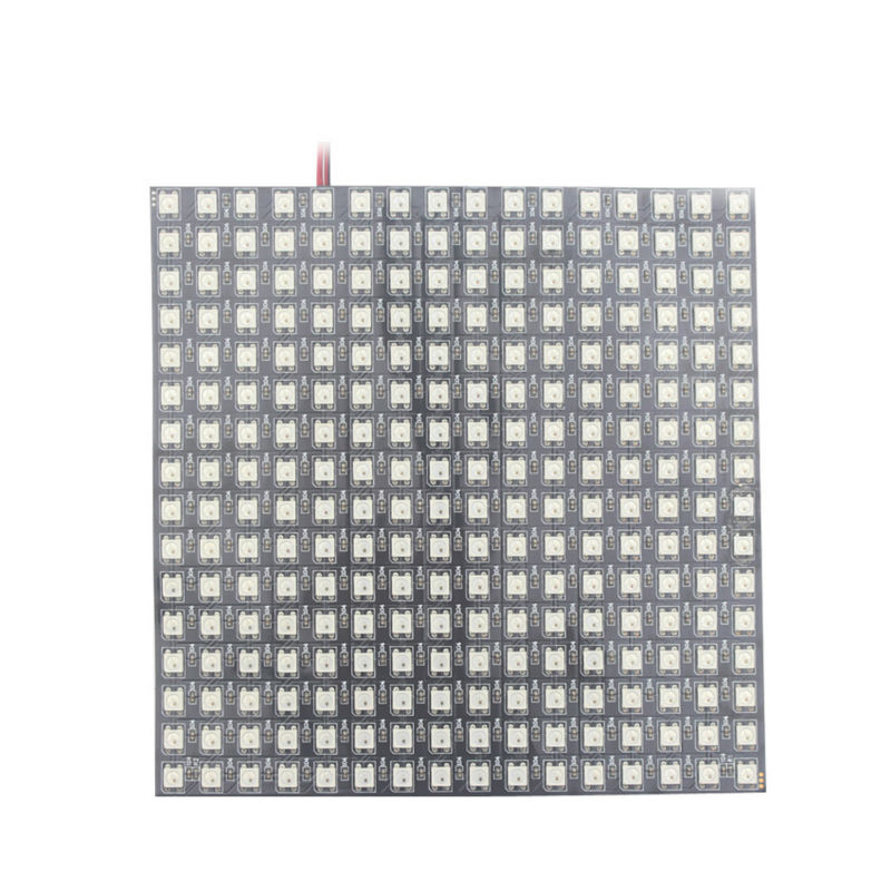 5v 16x16 pixel led panel,ws2812b chip smd 5050 rgb led ws2811 ic built-in individually addressable full color rgb led strip smart controller 5m ws2811 led digital strip 30leds m with 30pcs ws2811 built in the 5050 smd rgb led chip