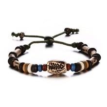 Rotatable Porcelain Beads Wristband