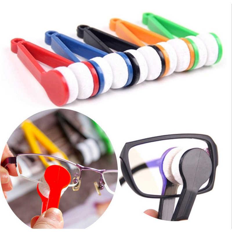 1 stücke 2018 Neue Mini Mikrofaser Gläser Reinigung Pinsel, Weiche Sun Gläser Reiniger Reinigung Werkzeuge Glas Wischer
