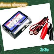 RC батарея баланс зарядного устройства зарядное устройство для 7,4-11.V 2-3S 2S 3S ячеек Li-PO батарея RC автомобиль страйкбол пневматические пистолеты