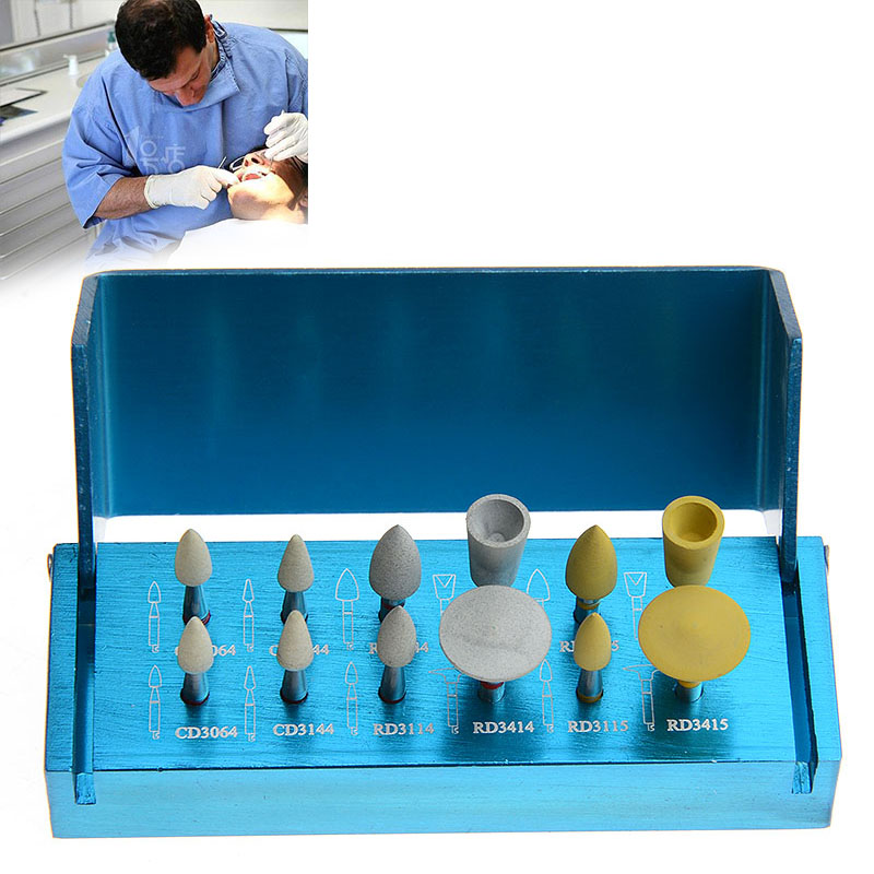 Dental Porcelain Set For Clinic RA3112 Low Speed Contra Angle Teeth Whitening Oral Hygiene Diamond Polishers Dentist Tools dentist gift resin crafts toys dental artware teeth handicraft dental clinic decoration furnishing articles creative sculpture