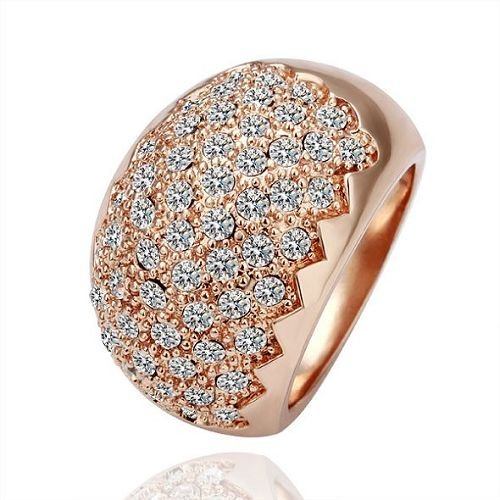 R071 Wholesale 18k Gold Plated Rings New Fashion Jewelry