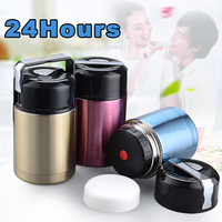 2018 New Stainless Steel Vacuum Thermos Lunch Box Portable Leak Proof Bento Box For Kids Picnic Food Storage Container
