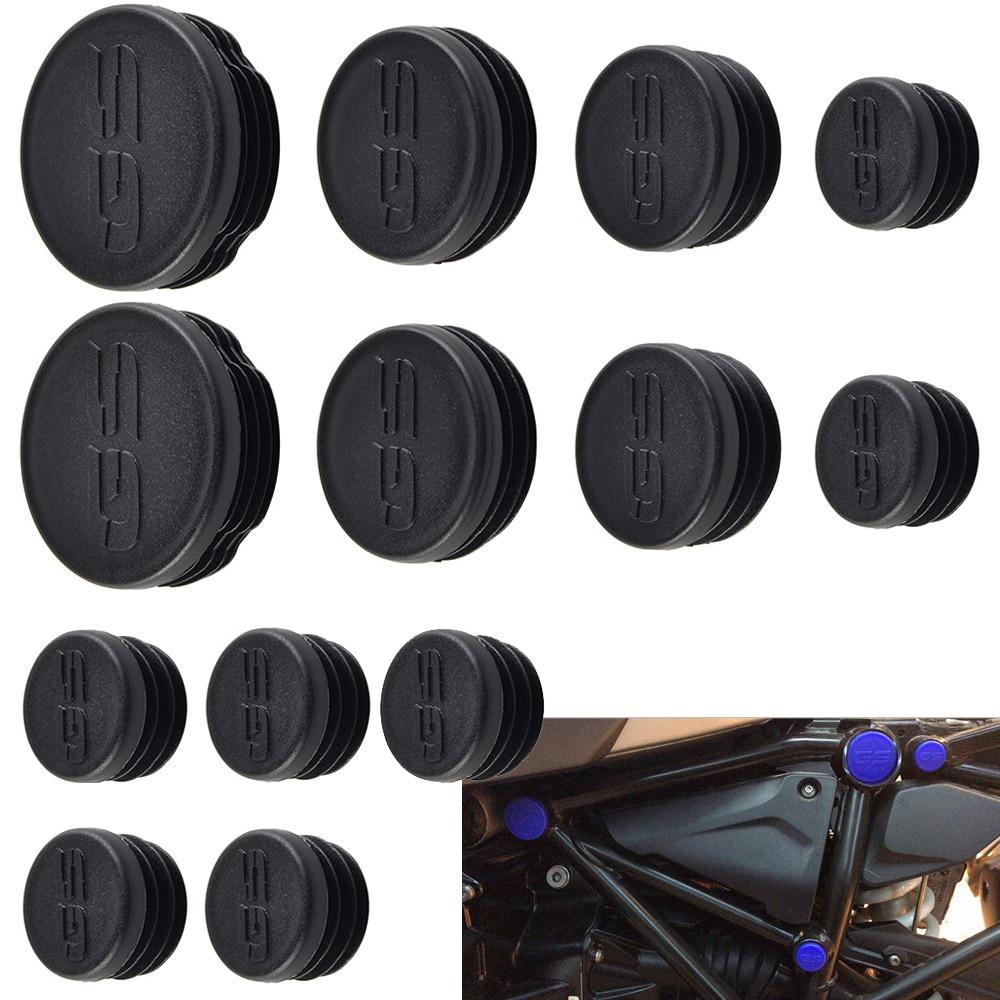 NICECNC Plastic 13PCS Frame Caps Set Frame Hole Cover Plug For BMW R1200GS LC R 1200GS R 1200 GS Adventure 2013 2014 2015 2016