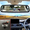 Auto Reverse Rearview Backup Camera + 5 Inch TFT LCD Car Mirror Color Monitor For Peugeot 407 2D coupe / 4D Sedan