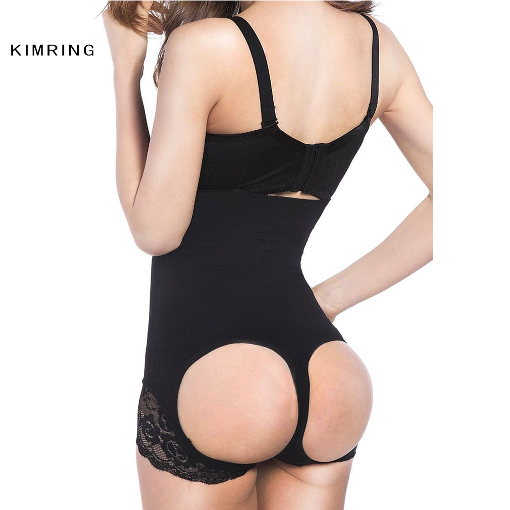 kimring sexy butt lifter high waist panty open hips shaper waist