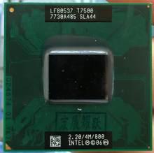 Intel processador para laptop, processador para cpu intel core duo 2 t7500 pga 478 cpu em funcionamento total