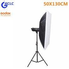 Godox SB-BW50x130cm/20″x51″ Bowens Mount Rectangular Portable Studio Strobe Softbox Diffuser for Studio Strobe Flash Speedlite