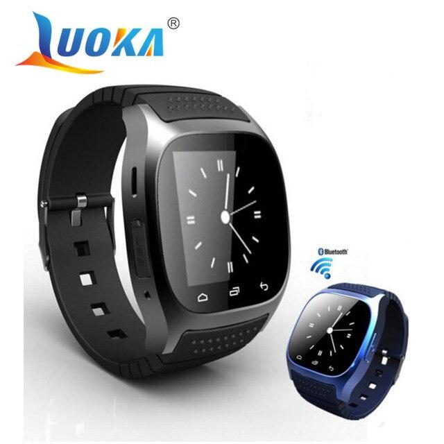LUOKA M26 Bluetooth Smart Watch роскошные наручные часы Г часы smartwatch с Набора SMS Напомнить Шагомер для Android Samsung телефон