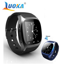 LUOKA M26 Bluetooth Smart Watch luxury wristwatch R watch smartwatch with Dial SMS Remind Pedometer for Android Samsung phone