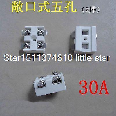 5pcs 220V 30A 4 Holes Screw long splicing mounting ceramics Terminal Blocks full lcd display touch screen assembly bezel for acer aspire v5 571p 6429 v5 571p 6408 v5 571p 6627 v5 571p 6409 v5 571p 6631