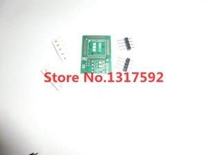 Image 3 - Il trasporto libero 100% origanil Più Nuovo RT809F LCD programmatore ISP + 10 adattatori + sop8 IC test clip + 1.8 VAdapter + TSSOP8/SSOP8 Adattatore