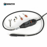 LANXSTAR Quality New Dremel Style Grill Grinder Diy Electric Hand Mill Machine Accessories Variable Speed Dremel