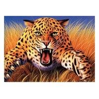 73 55CM Roar Leopard Diamond Painting Mosaic Rhinestone Crystal DIY Painting Cross Stitch Diamond Embroidery Home