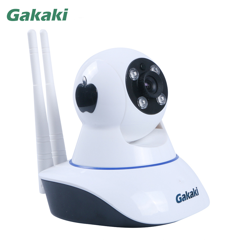 Gakaki HD Wifi IP Camera Baby Monitor P2P Wireless Network Surveillance Night Vision CCTV Camera Support Motion Detection Alarm gakaki hd wifi ip camera baby monitor p2p wireless network surveillance night vision cctv camera support motion detection alarm