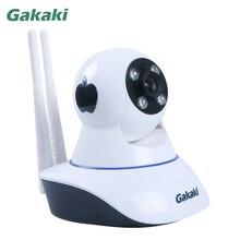 Gakaki HD Wifi IP Camera Baby Monitor P2P Wireless Network Surveillance Night Vision CCTV Camera Support
