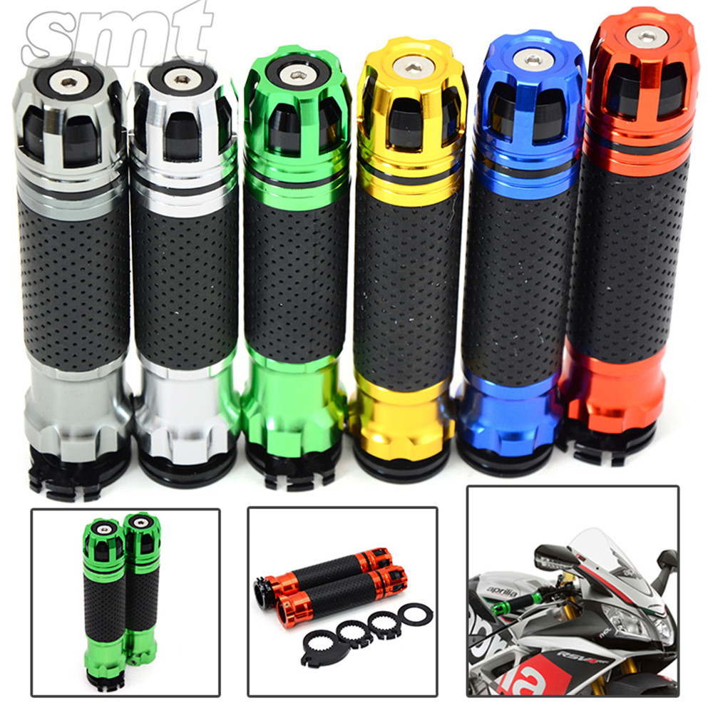 New Style Motorcycle CNC handlebar Grips&ends Suit for 22mm Handbar For Kawasaki ZX10R 2006 2007 2008 2009 2010 2011 -2014 7 8 22mm cnc motorcycle handlebar counterweight grips end for yamaha fz8 2011 fz6 fz6n fz6s fazer 2004 2005 2006 2007 2008 2009