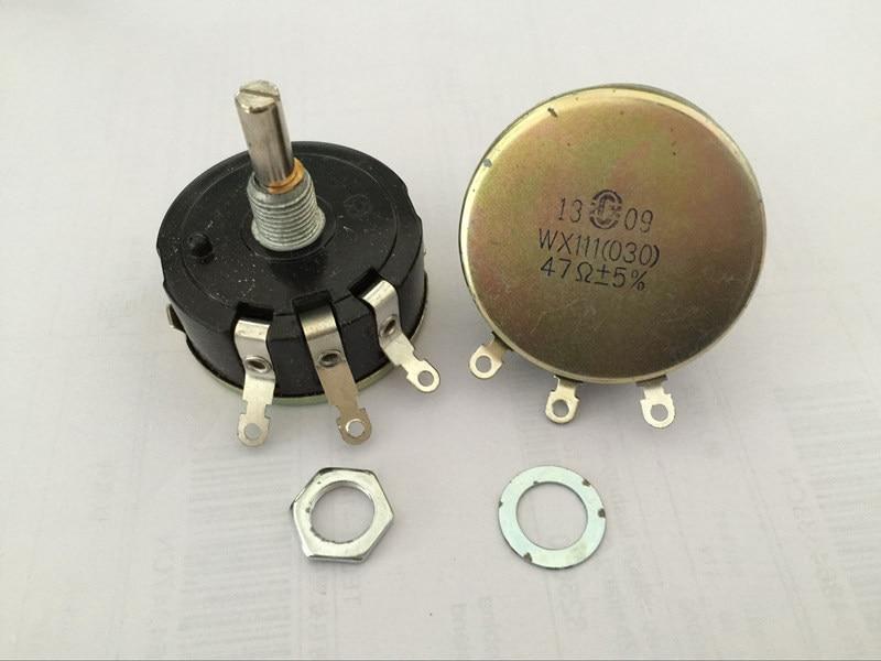 10pcs WX111 030 1.5K Ohm Resistance Electrical Wirewound Potentiometer