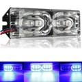 12 V 6 LED de La Motocicleta Freno De Parada de La Cola de Advertencia del Flash del Estroboscópico Luz De Emergencia