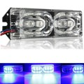 12V 6 LED Motorcycle Warning Brake Tail Stop Strobe Flash Emergency Light