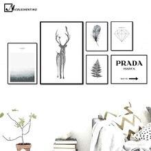 Ozdobny plakat różne wzory