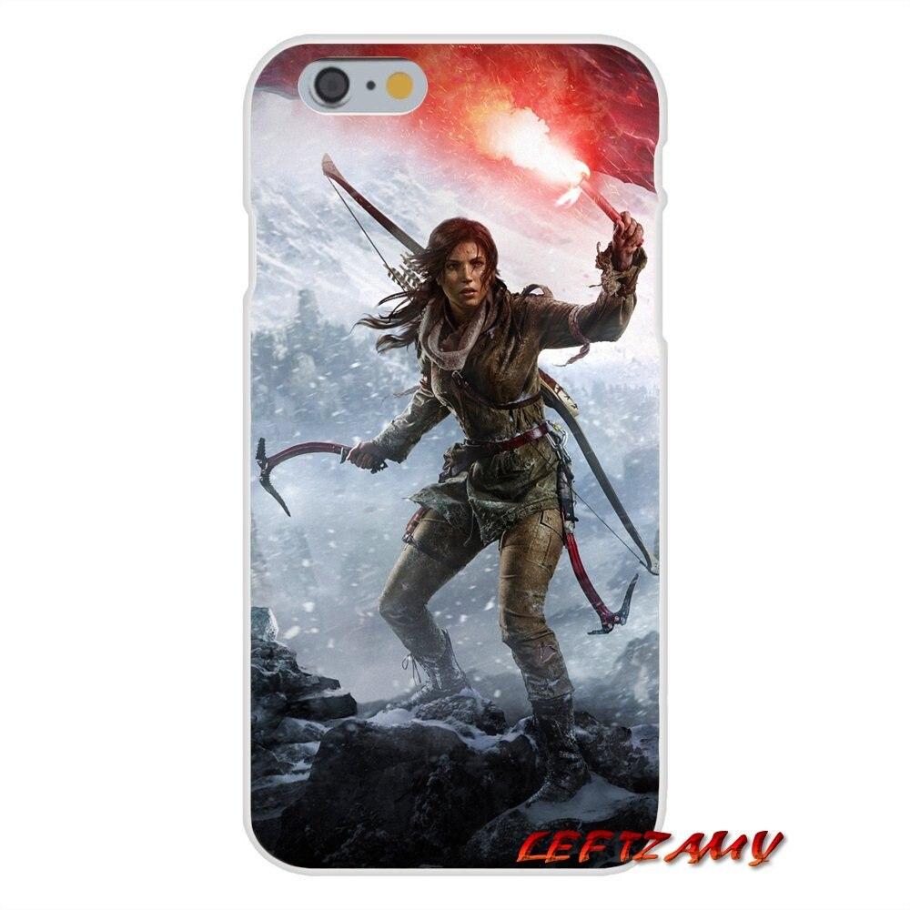 Tomb raider lara croft game Slim Silicone phone Case For Samsung Galaxy S3 S4 S5 MINI S6 S7 edge S8 S9 Plus Note 2 3 4 5 8