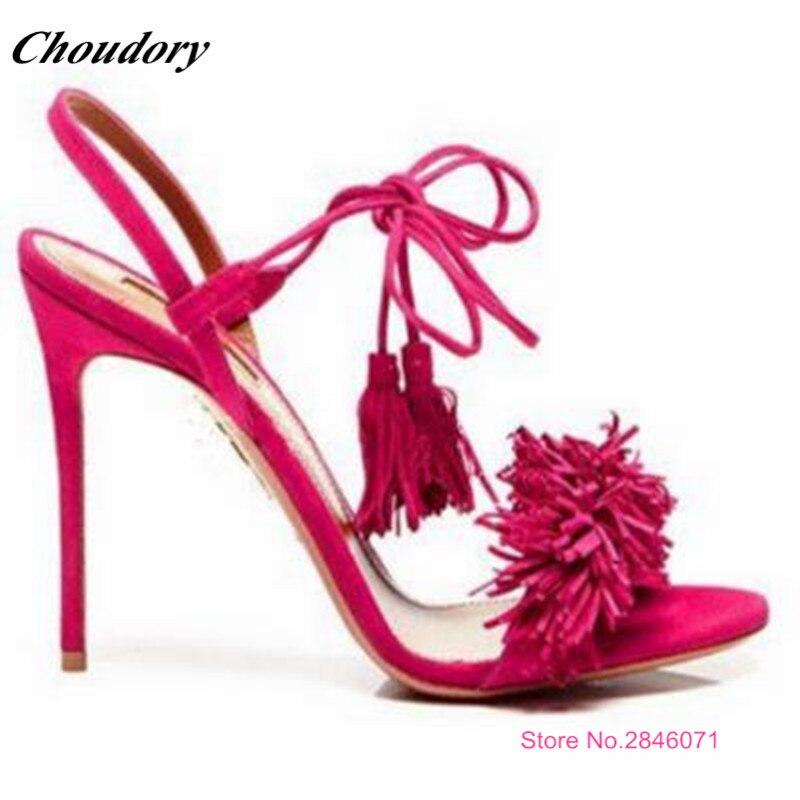 Vente Chaussures Robe Taille Plus 43 Cheville as Pic Chaude Hauts D'été 6 Sexy Talons Femmes Dames Sandales Mode La 2017 34 Sangle As Pic Couleurs rRxrqYt