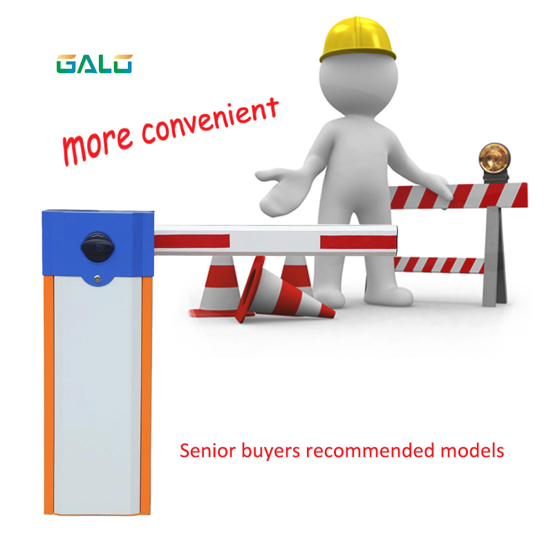 GALO Automatic car boom parking barrier & road traffic barrier & car park barrier gate for parking access control security parking barrier gate system electric up and down boom barrier gate for vehicle access restrictions or safety checks