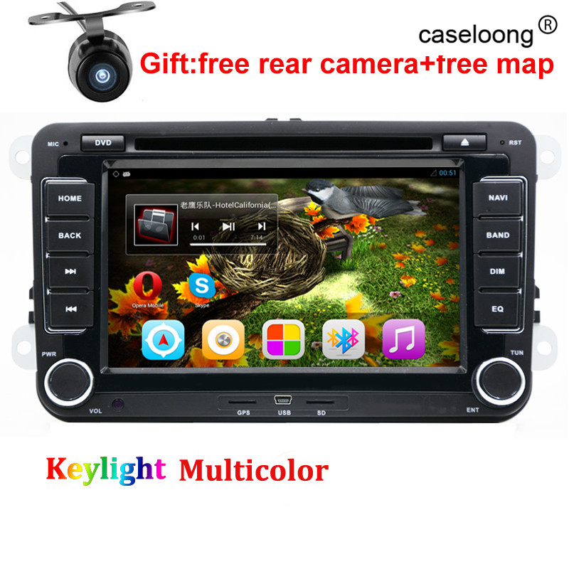 Quad core Android Car DVD for VW <font><b>golf</b></font> 4 <font><b>golf</b></font> <font><b>5</b></font> 6 touran passat B6 sharan jetta caddy transporter t5 polo tiguan car gps radio
